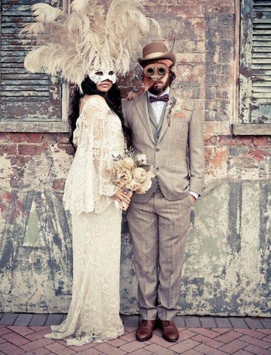 ślub - bal maskowy