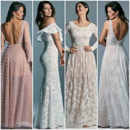 różne suknie ślubne boho