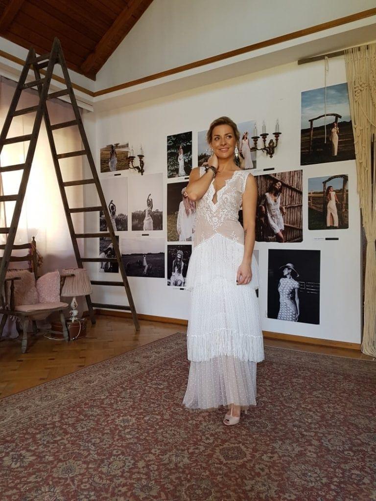 Magda Soszyńska - suknia ślubna