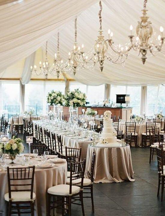 ślub w stylu rustykalnym dekoracje sala weselna