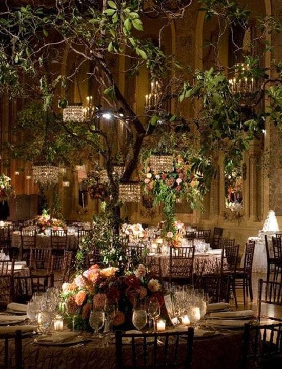 ślub w stylu rustykalnym dekoracje