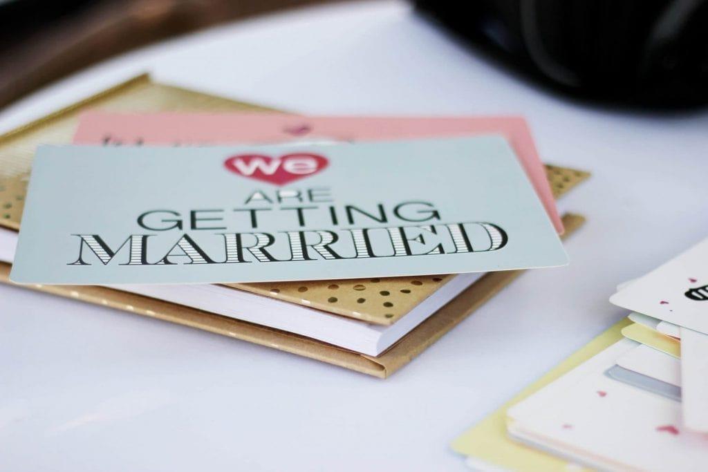 Papeteria ślubna – czy to tylko zaproszenia? Jakie mamy druki ślubne