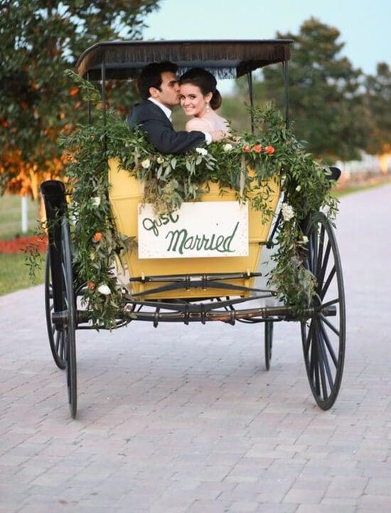 bryczka do ślubu
