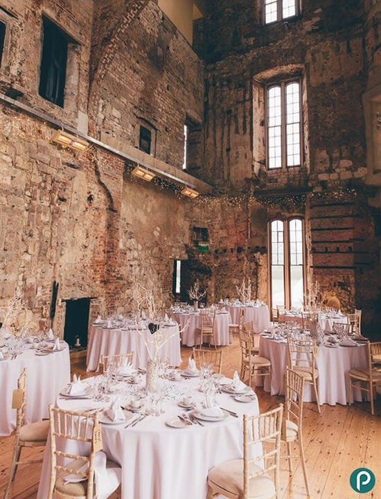 ślub w starym zamku