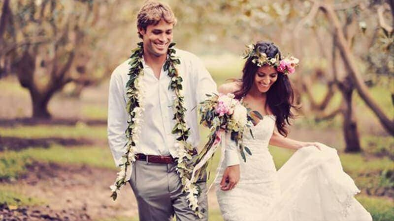 para młoda - suknia ślubna w stylu vintage retro