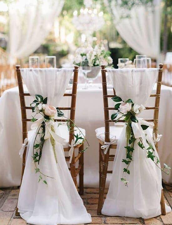 dekoracje ślubne boho