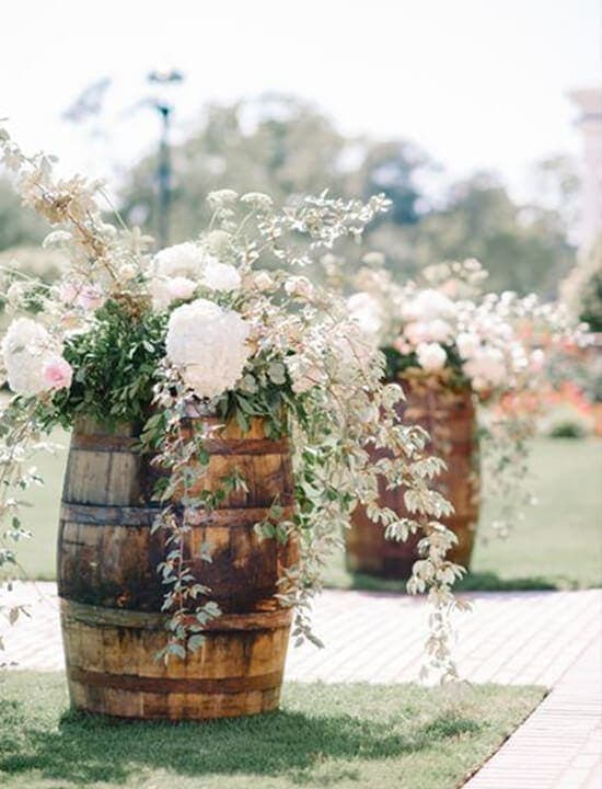 dekoracje ślubne, kwiaty