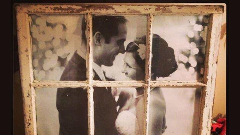 dekoracje ślubne vintage retro