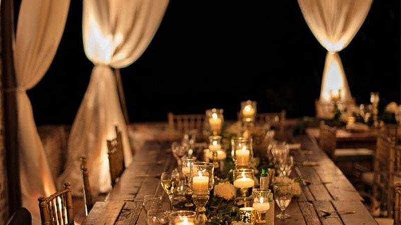 dekoracje ślubne w stylu boho