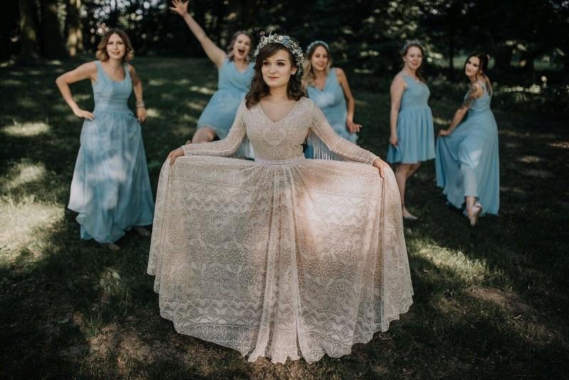 Suknia ślubna w stylu boho Porto 19.