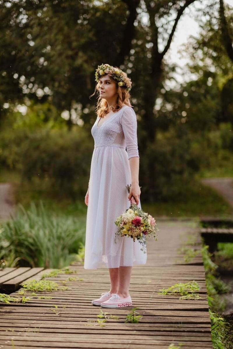 Suknia ślubna w stylu boho Santorini 7.