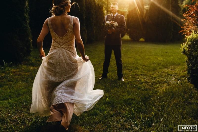 Suknia ślubna w stylu boho Barcelona 12.