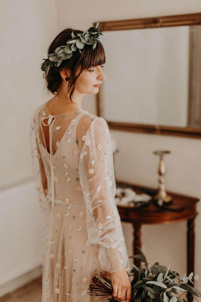 Suknia ślubna w stylu boho inspirowana suknią Barcelona 24