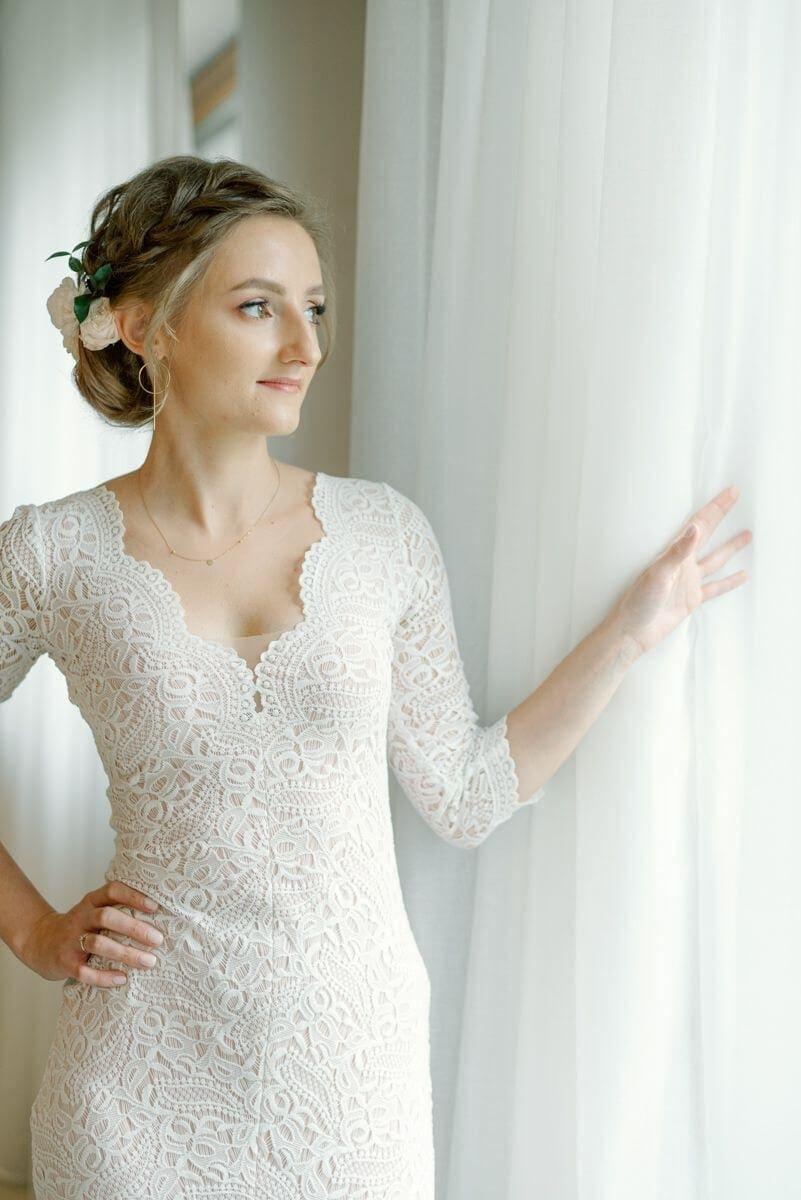 Suknia ślubna w stylu boho Porto 38.