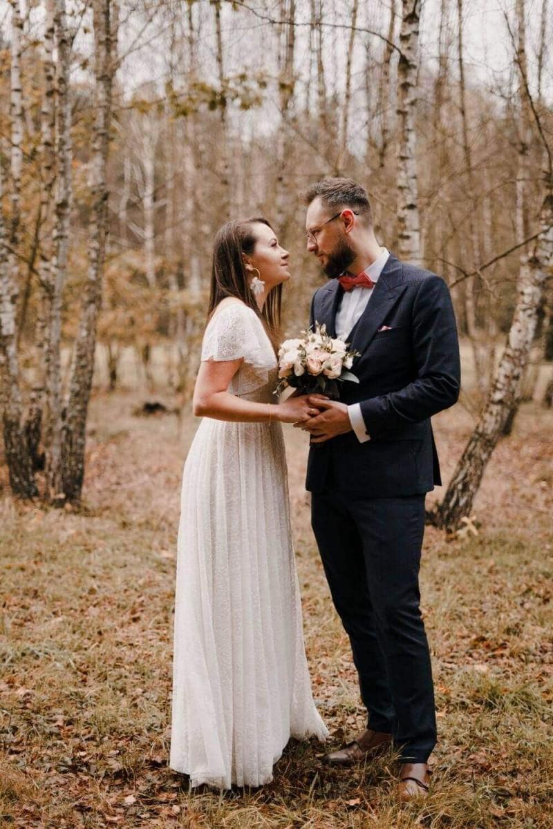 Suknia ślubna w stylu boho Porto 35.