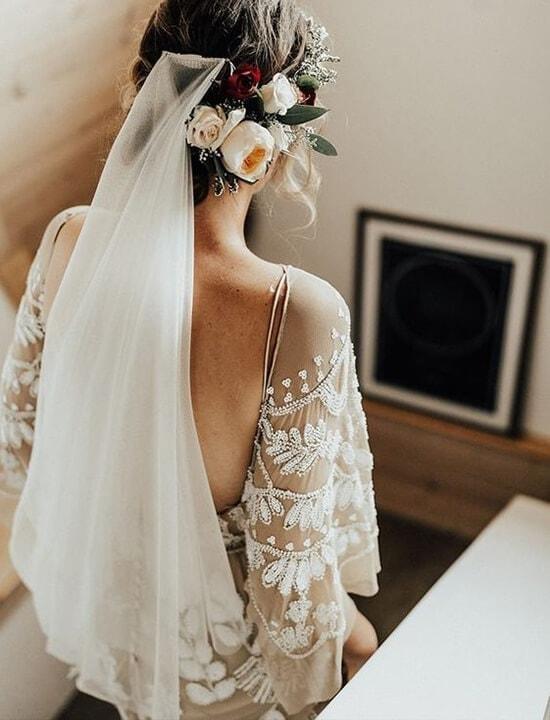 suknia ślubna vintage retro