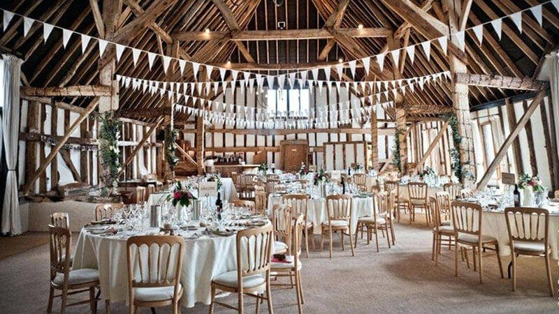 sala ślubna, stodoła, dekoracje