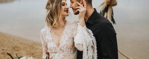 suknia ślubna boho wróżka