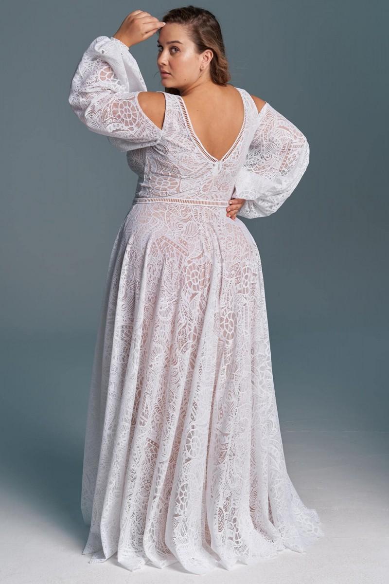 Suknia ślubna o klasycznym kroju