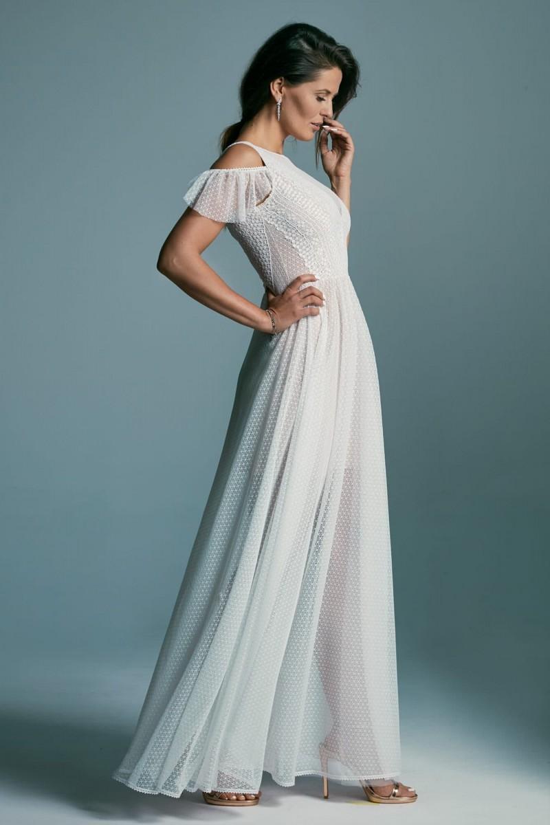 Dziewczęca suknia ślubna