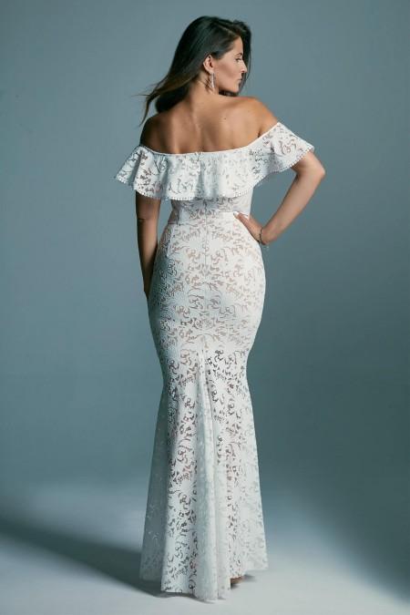 Suknia ślubna hiszpanka