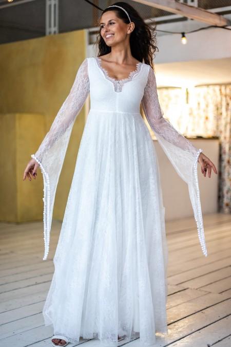 Suknia ślubna dla kobiet o sylwetce gruszka Paris 5