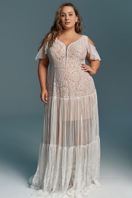 Suknia ślubna idealna na ślub na plaży