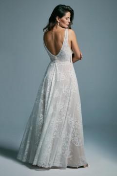 Odważna suknia ślubna