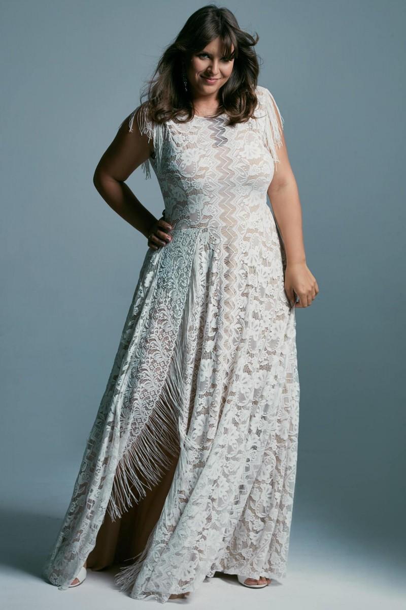Skromna suknia ślubna na wiele okazji: Porto 40